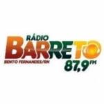 Logo da emissora Rádio Barreto 87.9 FM