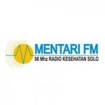 Logo da emissora Radio Mentari 98.0 FM