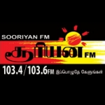 Logo da emissora Radio Sooriyan 103.4 FM