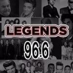 Logo da emissora Radio Legends 96.6 FM
