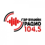Logo da emissora Family Radio 104.5 FM