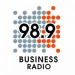 Logo da emissora Business Radio 98.9 FM