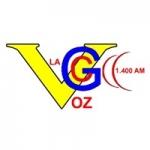 Logo da emissora Radio La Voz de la Gran Colombia 1400 AM
