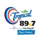 Logo da emissora Rádio Rede Tropical 89.7 FM