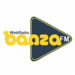 Logo da emissora Rádio Banza FM