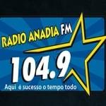 Logo da emissora Rádio Anadia 104.9 FM