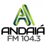 Logo da emissora Rádio Andaiá 104.3 FM