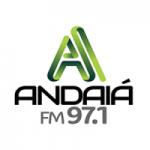 Logo da emissora Rádio Andaiá 97.1 FM