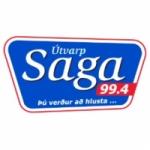 Logo da emissora Radio Saga 99.4 FM