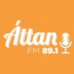 Logo da emissora Áttan 89.1 FM