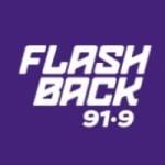Logo da emissora Flashback 91.9 FM