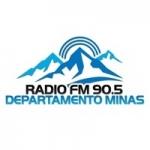 Logo da emissora Radio Departamento Minas 90.5 FM
