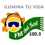 Logo da emissora Radio Del Sol 100.3 FM