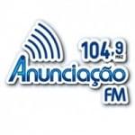 Logo da emissora Rádio Anunciação 104.9 FM