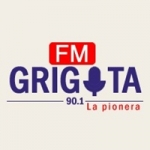 Logo da emissora Radio Grigota 90.1 FM
