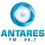 Logo da emissora Rádio Antares 96.7 FM