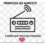 Logo da emissora Rádio Princesa do Agreste