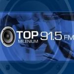 Logo da emissora Radio Top Milenium 91.5 FM