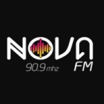 Logo da emissora Rádio Nova 90.9 FM