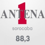 Logo da emissora Rádio Antena 1 Sorocaba 88.3 FM