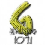 Logo da emissora Radio G 107.7 FM
