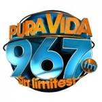 Logo da emissora Radio Pura Vida 96.7 FM