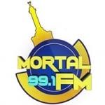 Logo da emissora Radio Mortal 99.1 FM