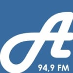 Logo da emissora Rádio Antena Jovem 94.9 FM