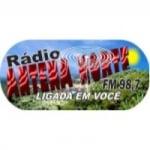 Logo da emissora Rádio Antena Norte 98.7 FM