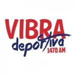 Logo da emissora Radio Vibra Deportiva 1470 AM