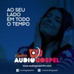 Logo da emissora Rádio Áudio Gospel FM