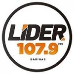Logo da emissora Radio Lider 107.9 FM