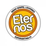 Logo da emissora Rádio Gospel Louvores Eternos