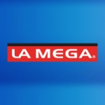 Logo da emissora Radio La Mega 99.7 FM