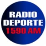 Logo da emissora Radio Deporte 1590 AM