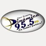 Logo da emissora Radio Dinámica 95.5 FM
