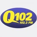 Logo da emissora Radio WQTU 102.3 FM