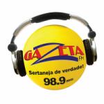 Logo da emissora Rádio Gazeta 98.9 FM