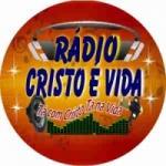 Logo da emissora Rádio Cristo é Vida