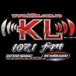 Logo da emissora Radio KL 107.1 FM