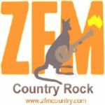 Logo da emissora Radio ZFM Country