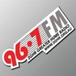 Logo da emissora 2GHR Greater Hume Radio 96.7 FM