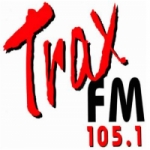 Logo da emissora Radio Trax 105.1 FM