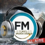 Logo da emissora Radio Austral 87.8 FM