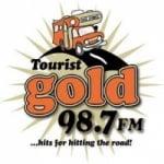 Logo da emissora Radio Tourist Gold 98.7 FM