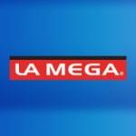 Logo da emissora Radio La Mega 107.3 FM