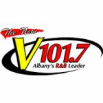 Logo da emissora Radio WQVE 101.7 FM