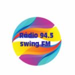 Logo da emissora Rádio 94.5 swing FM