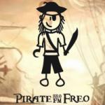Logo da emissora Radio Pirate 88.0 FM