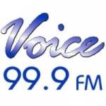 Logo da emissora Radio Voice 99.9 FM
